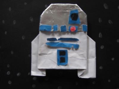 Origami R2-D2 Instructions