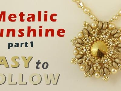 Pendant metalic sunshine part 1