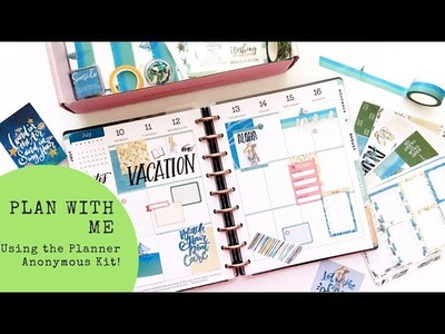 Plan with me- Classic Happy Planner- July 10-16