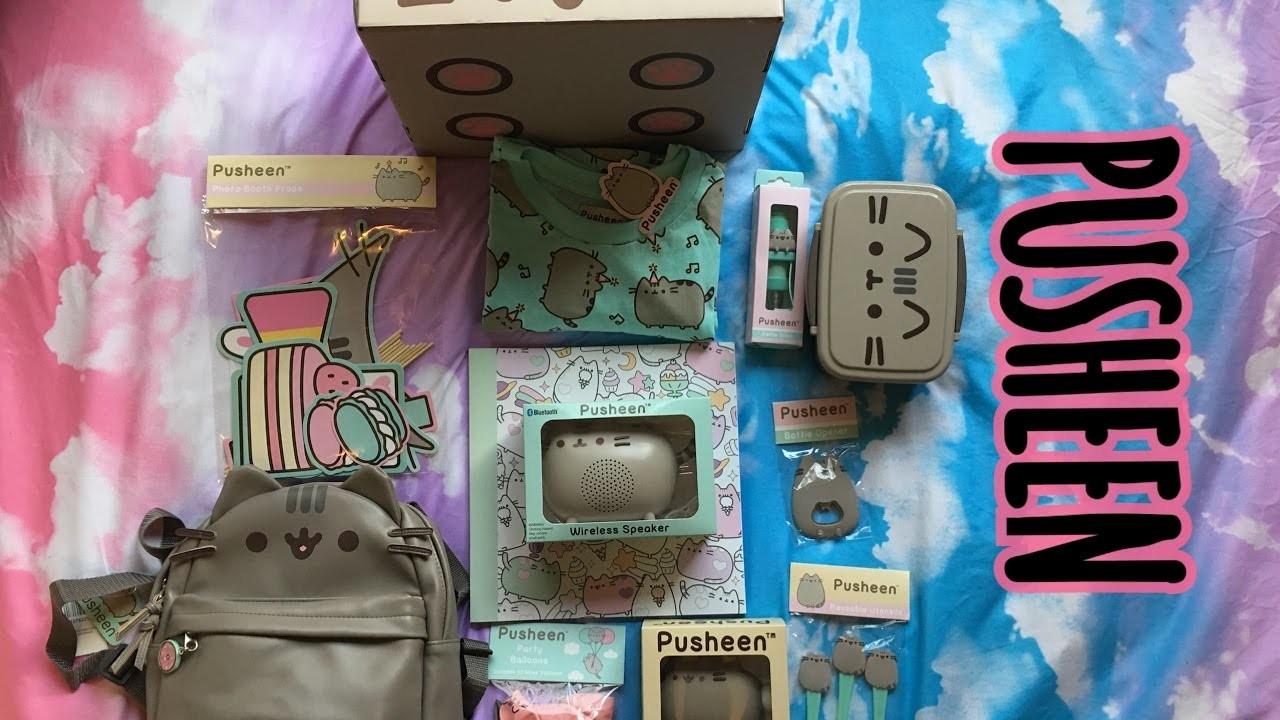 Pusheen Spring Box 2017 + mini backpack | UNBOXING