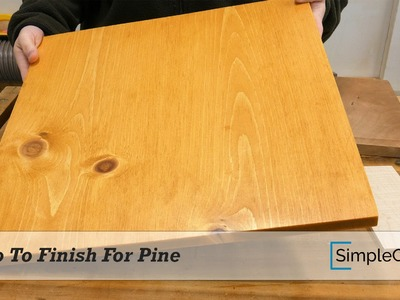 Quick And Easy Stain For Pine That Gives Great Results - Finishing 002