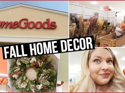 SHOP WITH ME AT HOMEGOODS 2017 | FALL DECOR AT HOMEGOODS