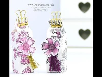 Stampin' Up! Birthday Blossoms Watercoloured Box