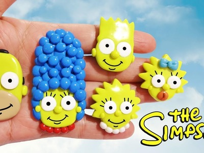 THE SIMPSONS! Polymer Clay Tutorial