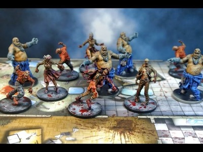 Tutorial Pintura Zombicide - Fast Painting Zombicide