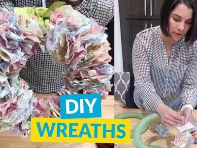 3 Adorable Wreath Ideas For Your Front Door!