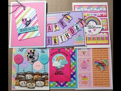 6 Cards 1 Kit - SSS September 2017 Card Kit