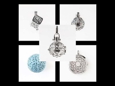 Aromatherapy. Essential Oil Pendants - Must Know Monday 9.4.17