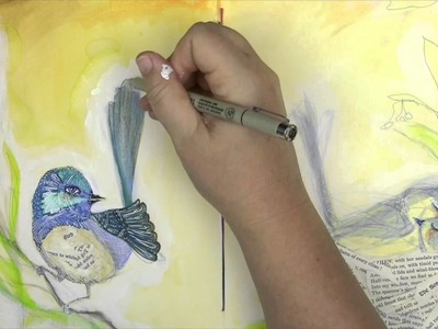 Art Lessons Vol. 4 With Jane Davenport: Watercolor Markers