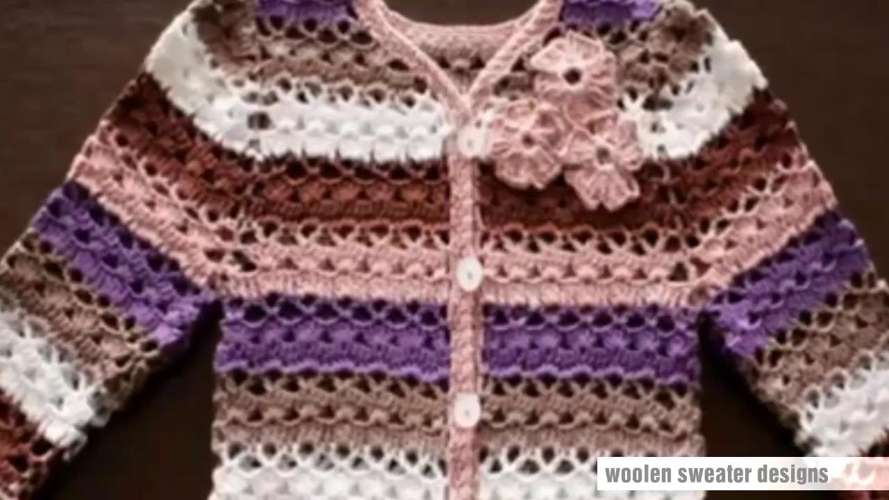 Baby sweater design | multicolor woolen sweater design for kids or baby in hindi - sweater design