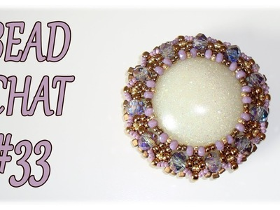 Bead Chat #33 - Beaded pendants, nylon threads and a RAW creation