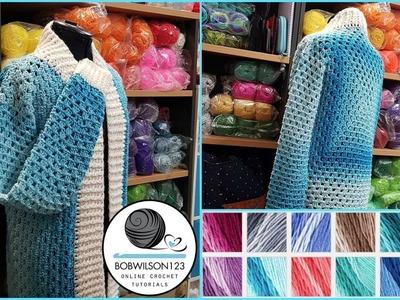 Crochet-a-long Cosy Cardi introduction