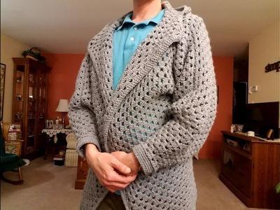 Crocheted Cardigan Tutorial.Formula! Pt. 3