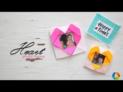 DIY Heart Photo Frame