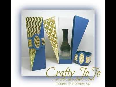 Drop Side Gift Box - Tutorial -