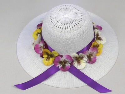 Easter Bonnet with flowers