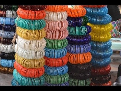 Glass bangles crafts.waste bangles usage in diys.waste bangles crafts