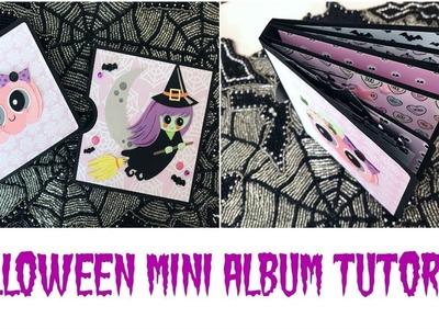 Halloween Mini Album | Halloween Happy Mail Series 2017 Episode #1 | Serena Bee Creative