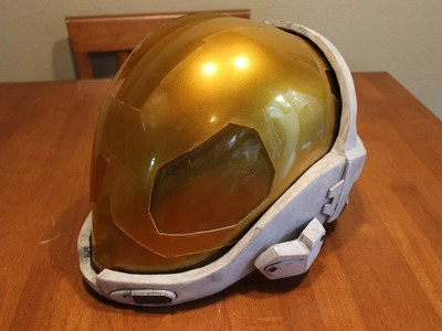HALO EVA Helmet Prop Tutorial  (HD)  Lifesized HALO META helmet prop armor