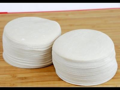Homemade Siomai Wrapper