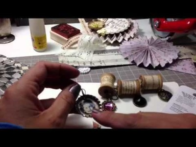 """HOW I MADE MY """"ART-I-MAKE"""" CHARMS FOR THE YPP APRIL SWAP"""