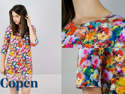 How To: Copen Shift Dress. Top (Beginners Dressmaking)