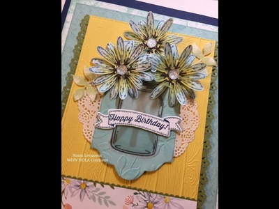 How to Create a Fancy Daisy Delight Birthday Gift Bag