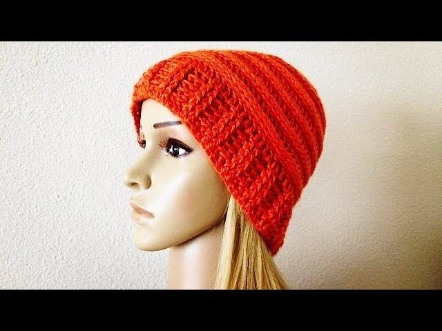 How To Crochet A Hat, Lilu's Handmade Corner Video # 179