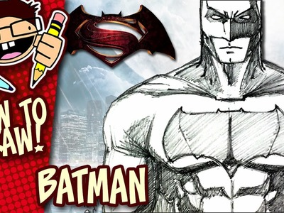 How to Draw BATMAN (BATMAN v SUPERMAN: DAWN OF JUSTICE) Step-by-Step Tutorial
