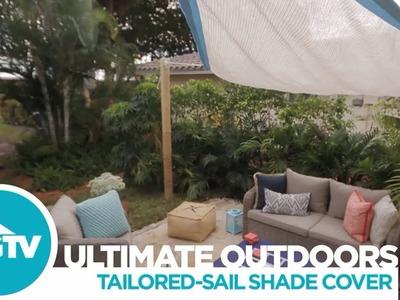 How to Install a Shade Sail - HGTV