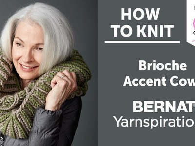 How to Knit: Brioche Accent Cowl