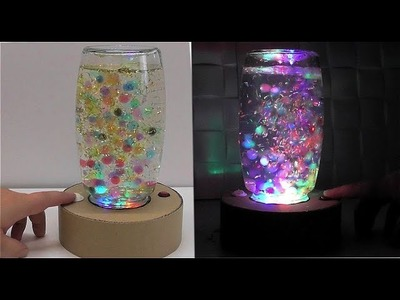 How to make a lamp with ORBEEZ cardboard