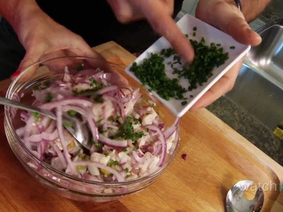 How to Make Ceviche: Peruvian Seafood Dish