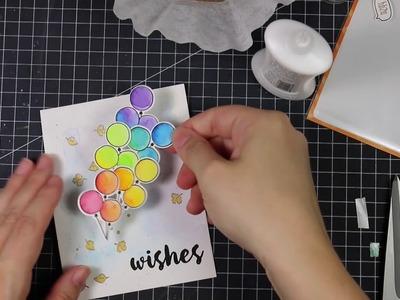 How To: Rainbow Birthday Card w.Amy Rysavy