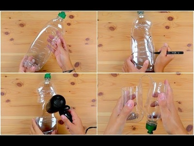 How to turn an empty dish soap dispenser