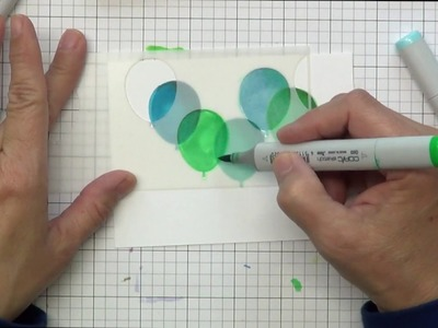 How to use stencils with markers
