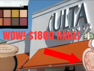 HUGE ULTA DUMPSTER DIVING HAUL! $1800 IN MAKEUP AND LIVE DIVE! + GIVEAWAY ANNOUNCEMENT