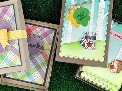 Intro to Gift Box + 2 gift card sets from start to finish