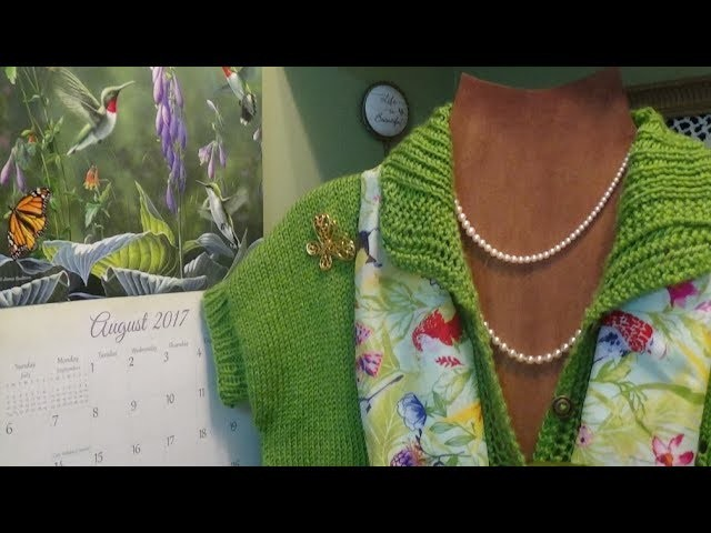 J's Knit - The Beauty of Nature and Lace Sweater. EP. #71-1