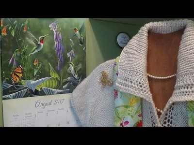J's Knit - The Beauty of Nature and Lace Sweater. EP. #71-2.