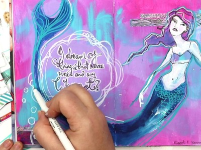 Jane Davenport Mermaid  - the full tutorial with JDMM!