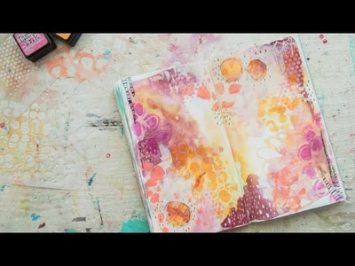 Journal With Me {12}: Featuring Stencil Girl Stencils