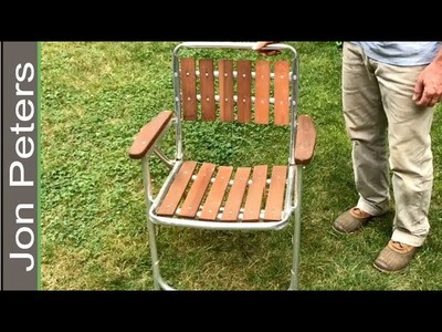 Just Fixing an Old Broken Chair