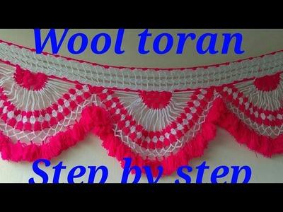 Make decorative wool toran  No-4