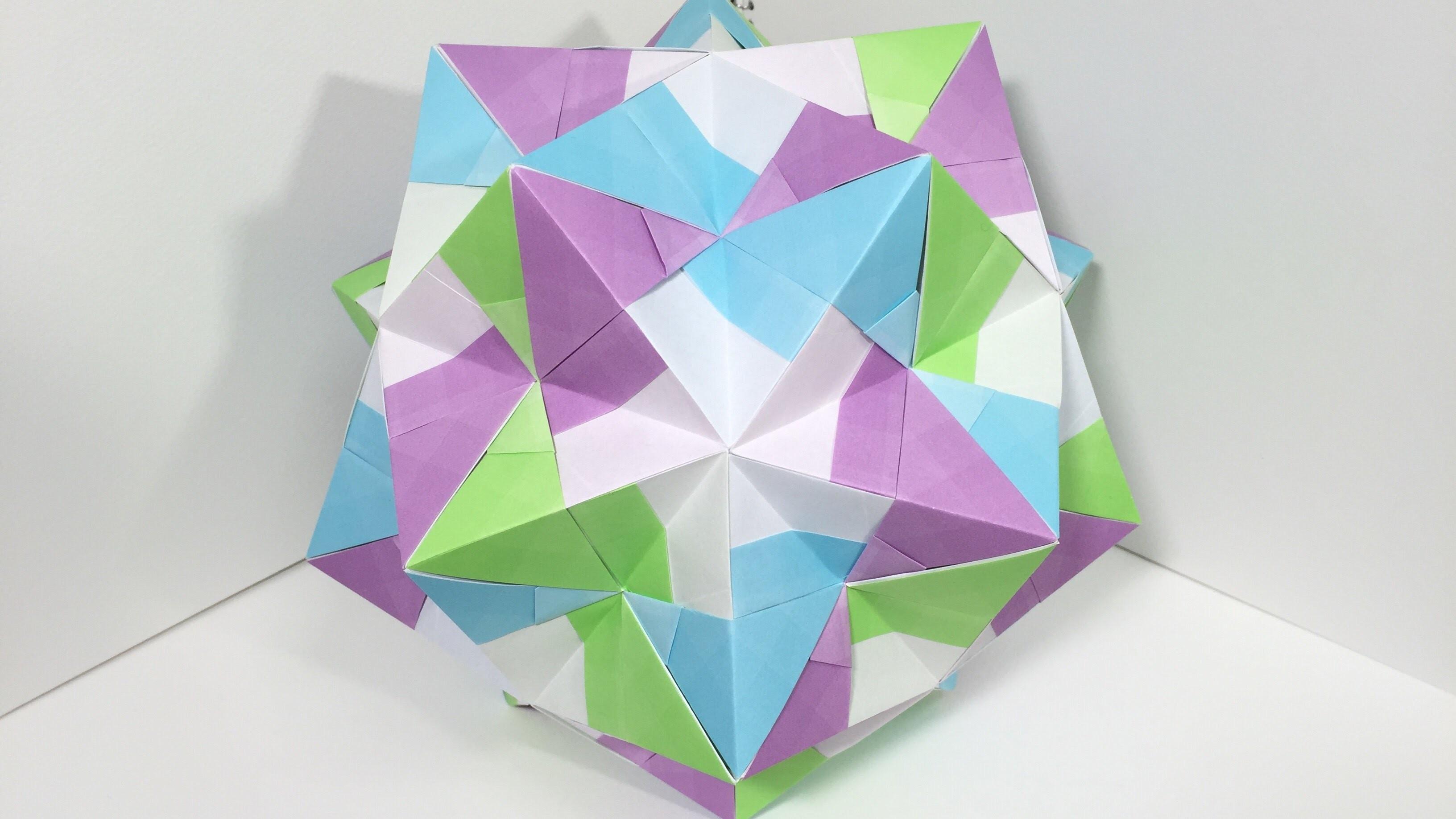 Kusudama, 【Modular Origami】Akodosuke B 30 pieces 【Kusudama ... - photo#30
