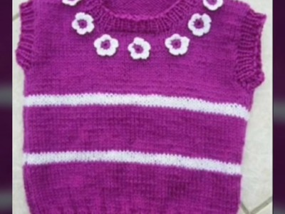 New Sweater Design for Kids or baby in hindi || woolen sweater making | idea for sweater