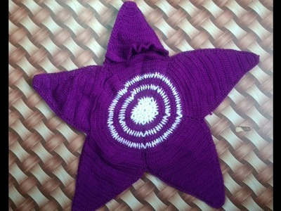 New sweater design for new born baby to 1 year baby kids | starfish design pattern for kids or baby
