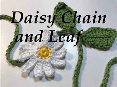 Ophelia Talks about Crocheting a Daisy Chain
