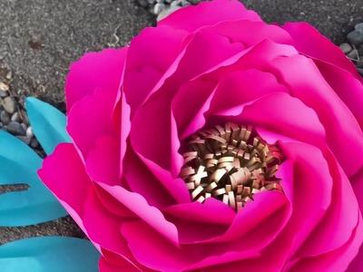 Ostin giant paper flower tutorial