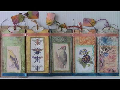 Paint Chip Journal Workshop with Rosemary & Shannon